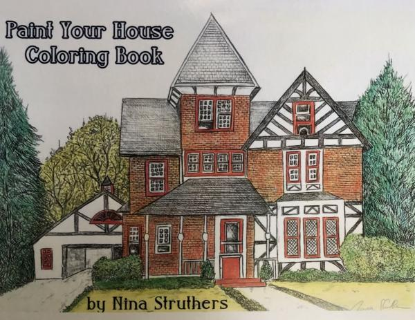 """Paint your House"" Coloring Book"
