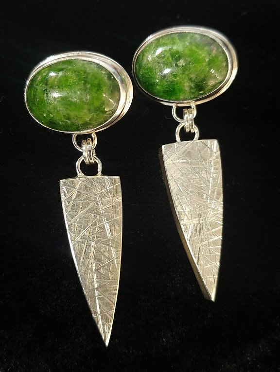 Sterling & Chrome Diopside picture