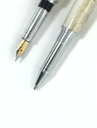Elk Antler Fountain Pen or RollerBall picture