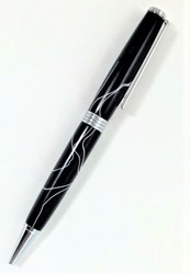 Black with White Lamar Pen picture