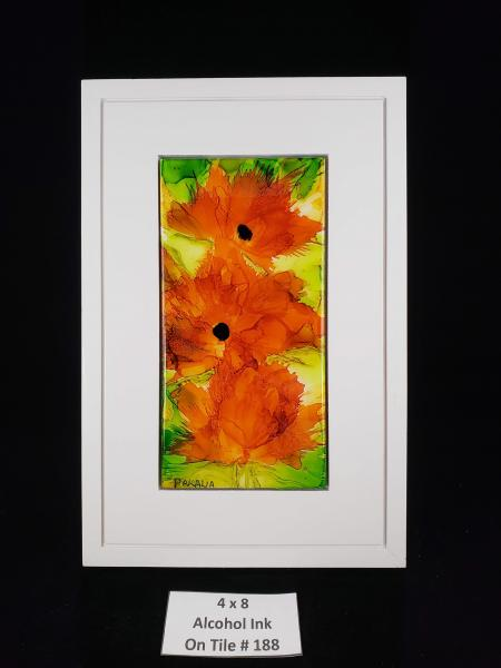 Orange Poppies 188