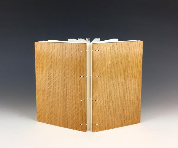 Blank Journal with Oak Boards (LK11)