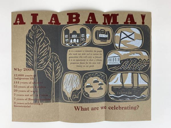 Alabama Bicentennial Brochure (KB14)