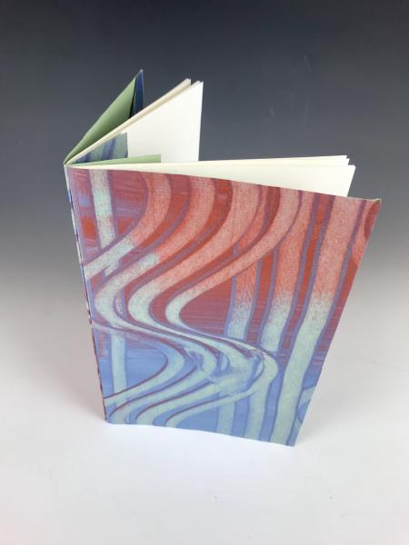 Blank Journal with Hand-Decorated covers (GF04)
