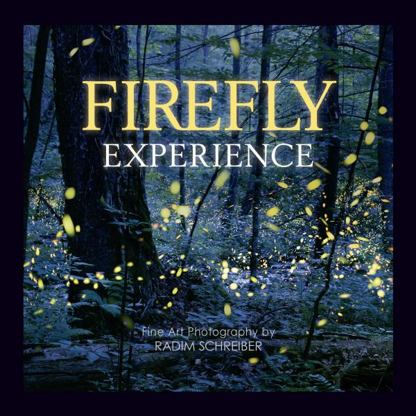 Firefly Experience Book - Coffee Table, Signed, Glows-in-the-Dark Cover, Fireflies and Lightning Bugs