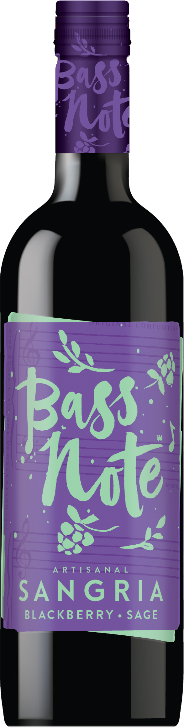 Bass Note Sangria - Blackberry Sage 750ml