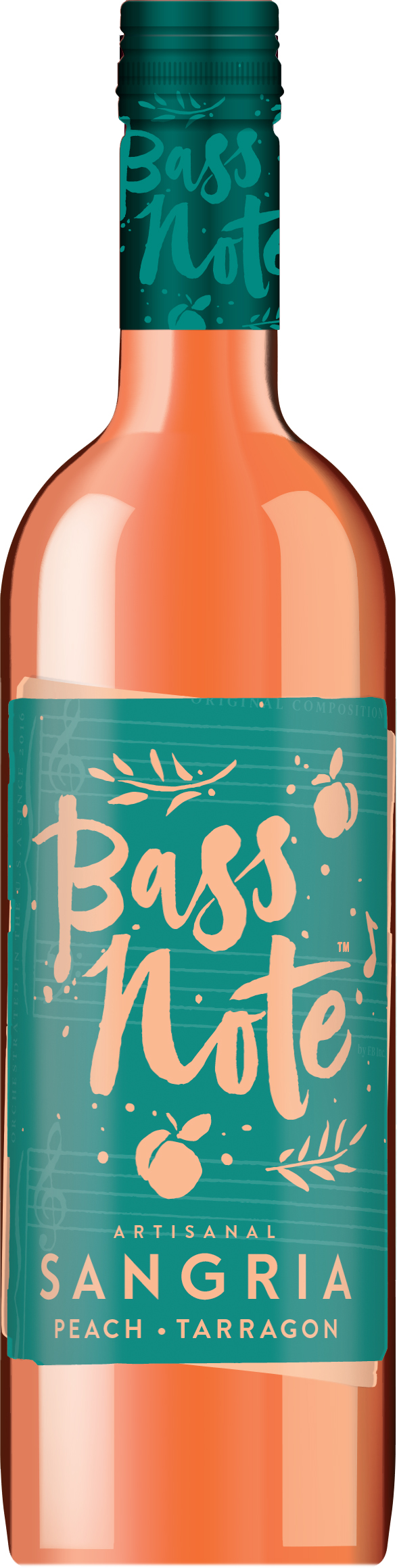 Bass Note Sangria - Peach Tarragon 750ml