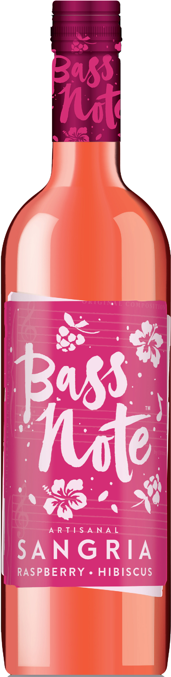 Bass Note Sangria - Raspberry Hibiscus 750ml