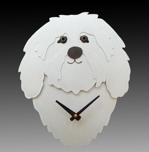 Havanese Wall Clock picture