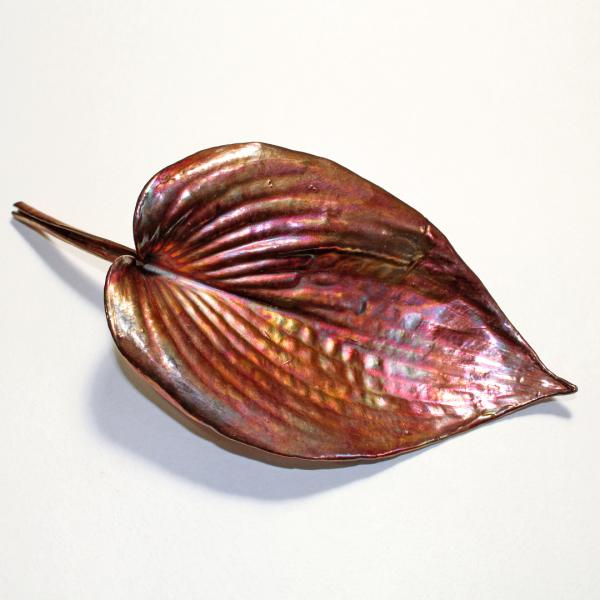 Hosta Leaf Sculpture