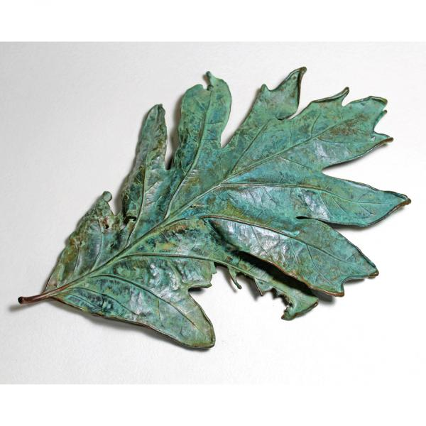 White Oak Leaf Sculpture