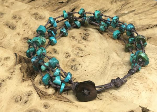 Four Strand Turquoise Bracelet picture