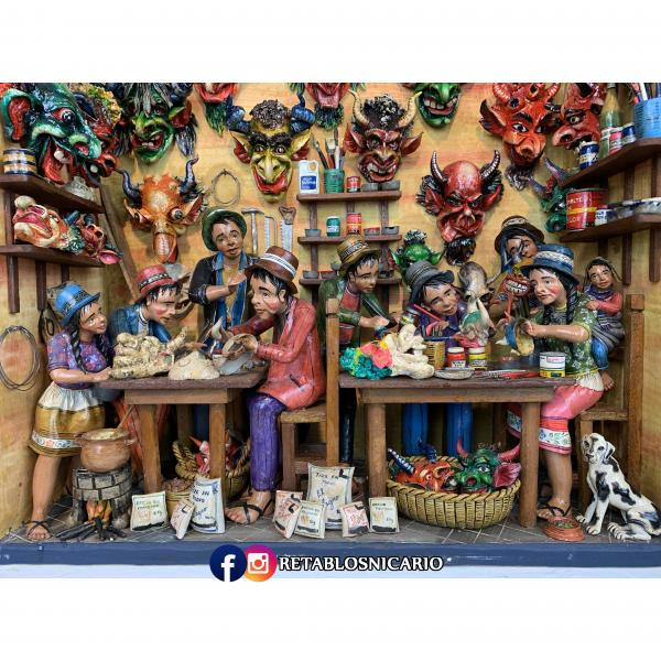 The Mask Maker's Workshop picture