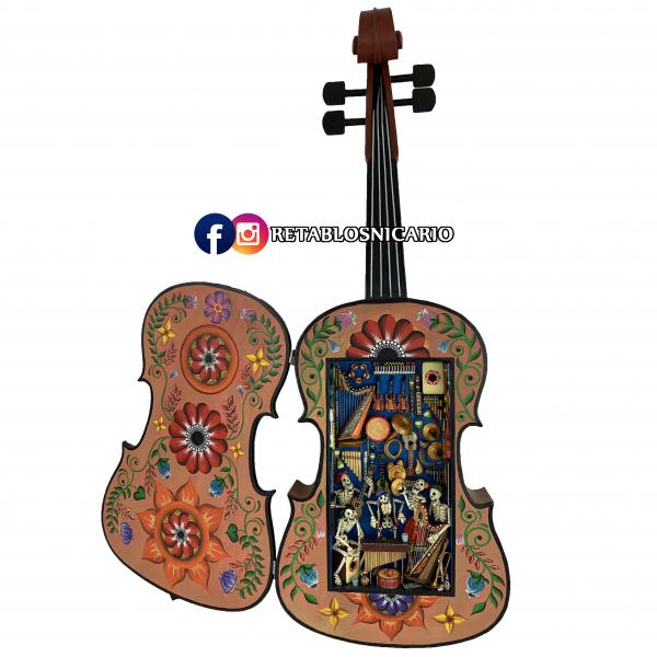 Violin - The Day of the Dead - Andean Bar