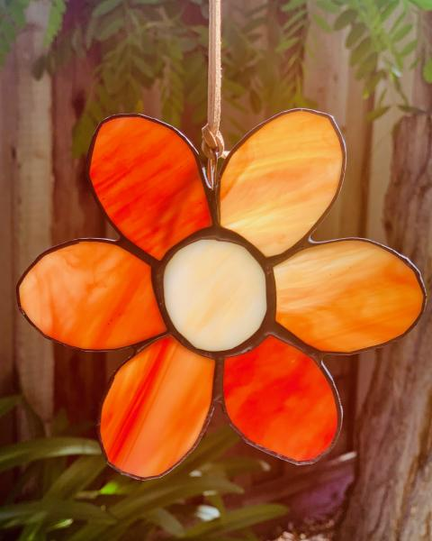 Stained Glass Daisy
