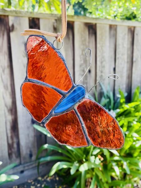 Stained Glass Butterfly Suncatcher picture