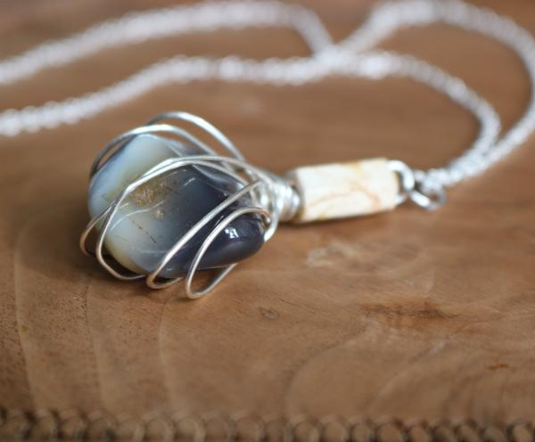 Botswana Agate Necklace picture