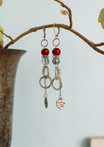 Love in Red Earrings