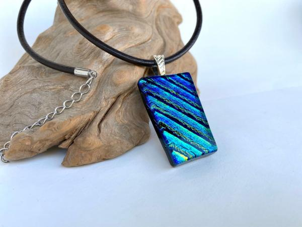 Blue-Green-Gold Necklace