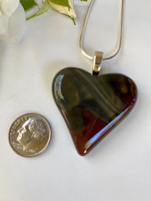Double-Side Heart Necklace