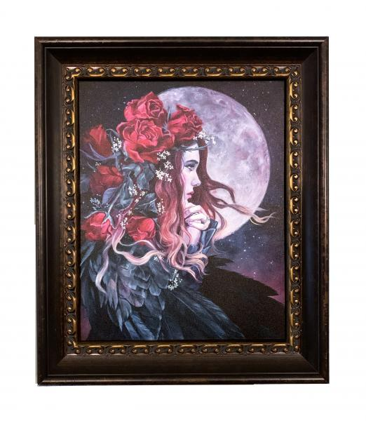 Moonrise, Framed Canvas Print