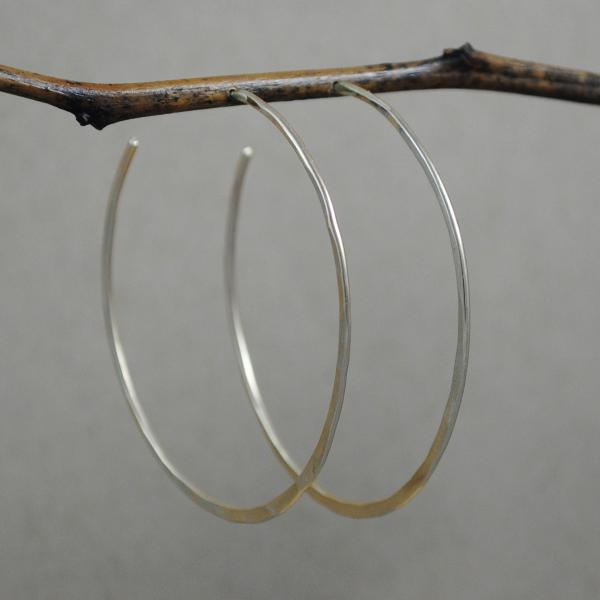 Extra Large Hoops - gold-filled