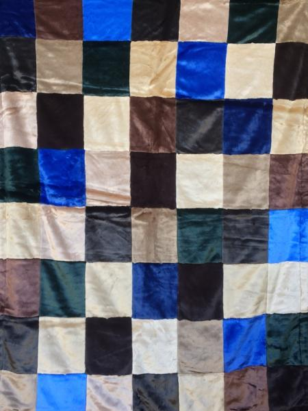Decorator Patchwork Blanket