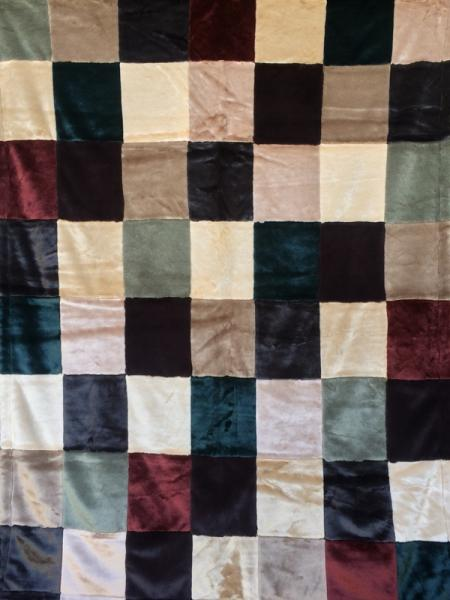Earthtone Patchwork Blanket picture