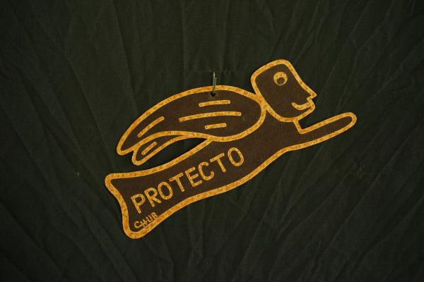 Protecto (10 inch, all rusty, fly to right)