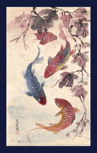 3 Koi of Autumn