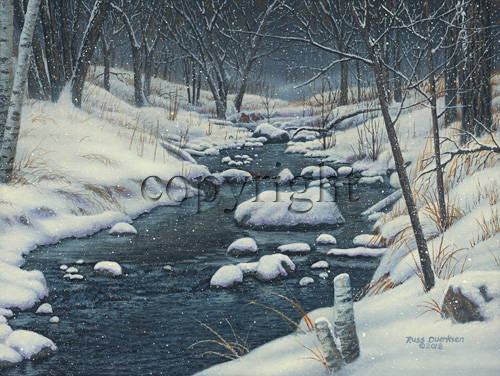 """Winter Wonderland""  - Giclee Canvas picture"