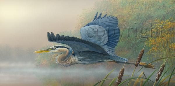 """Morning Quest"" - Giclee Canvas"