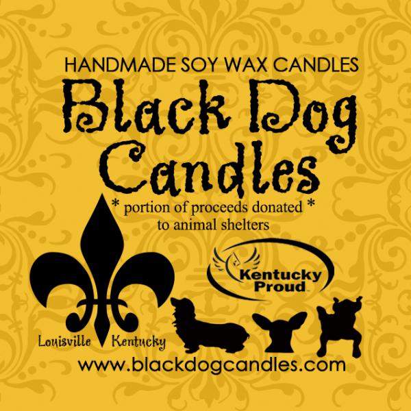 Black Dog Candles