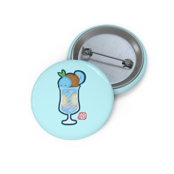 Pokemon Cafe Ice Squirtle Float Pin picture