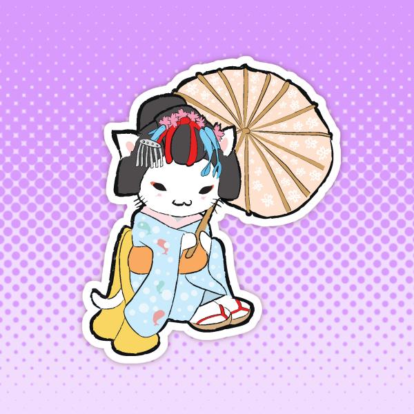 Geisha Cat