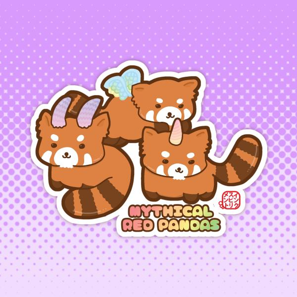 Mythical Red Pandas
