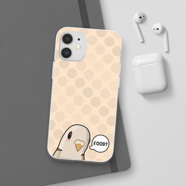 Food Pigeon Tan Phone Case
