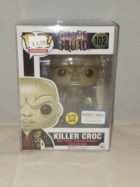 Killer Croc (Glow in the Dark) 102 Suicide Squad Funko Pop!