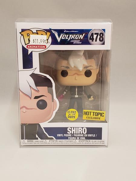 Shiro (Glow in the Dark) 478 Voltron Legendary Defender Funko Pop! picture