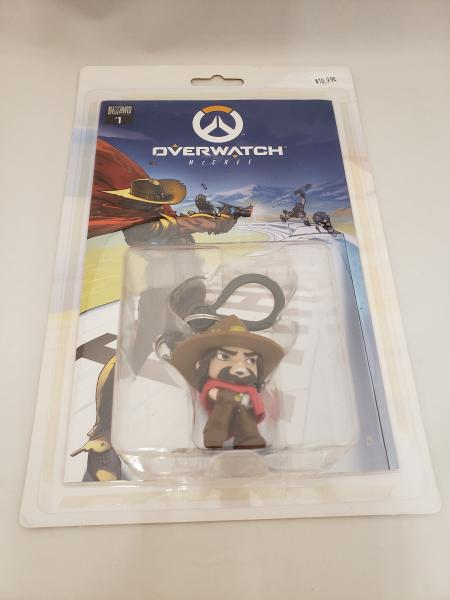 Overwatch Comic Book with Keychain