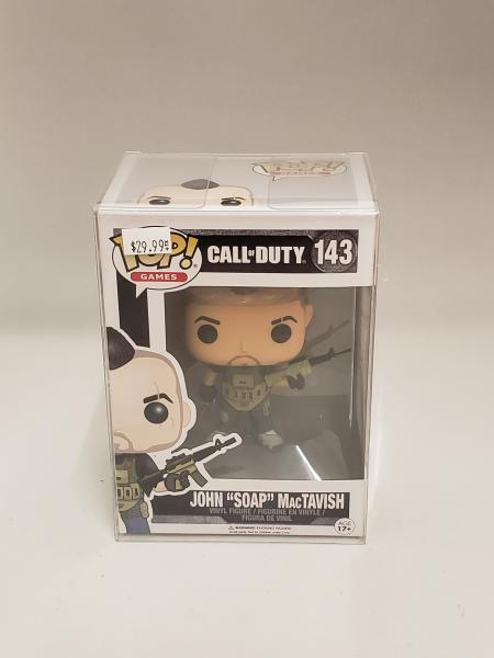 John Soap MacTavish 143 Call of Duty Funko Pop!