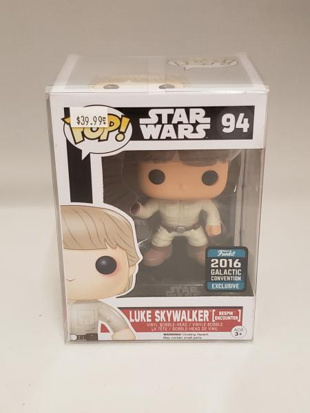 Luke Skywalker (Bespin Encounter) 94 Star Wars 2016 Galactic Convention Funko Pop!