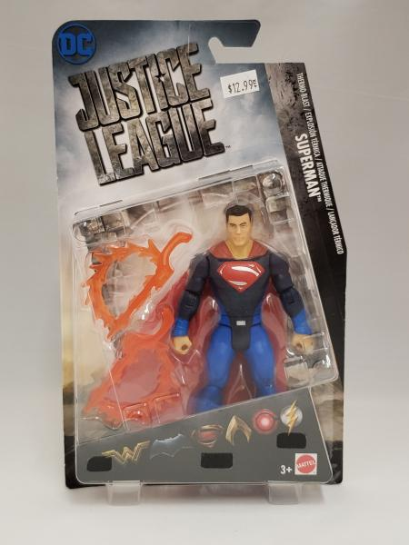 Superman Thermo-Blast Justice League Action Figure picture