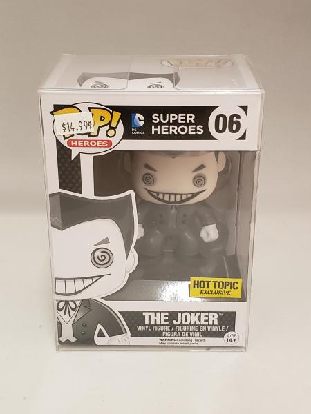 The Joker (Black/White) 06 DC Funko Pop!