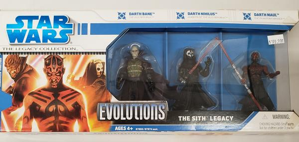 Evolutions The Sith Legacy Star Wars Collection