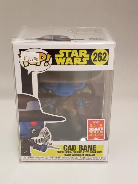 Cad Bane 262 Star Wars 2018 Summer Convention Funko Pop!