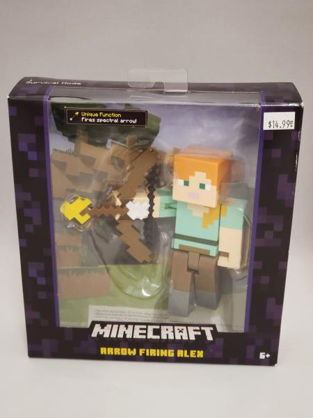 Arrow Firing Alex Minecraft Action Figure picture
