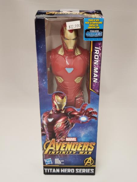 "Iron Man Marvel Titan Hero 12"" Action Figure"