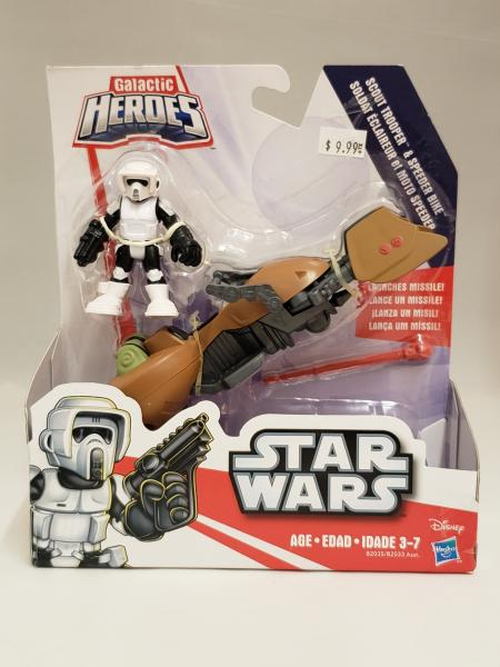 Scout Trooper & Speeder Bike Playskool Heroes Star Wars