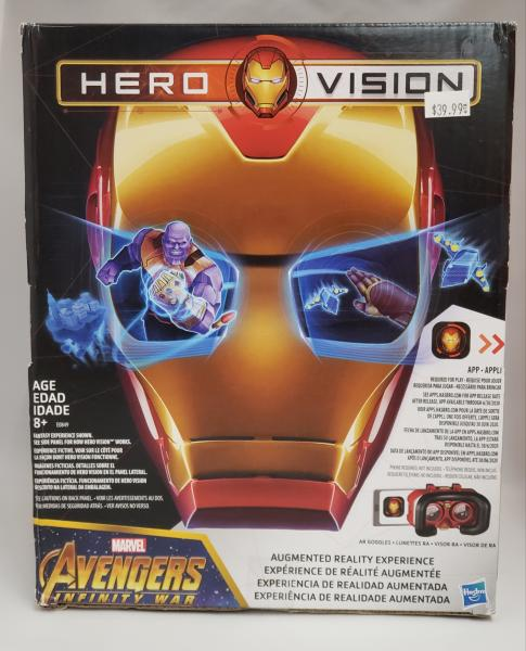 Hero Vision Avengers Infinity War Iron Man Augmented Reality